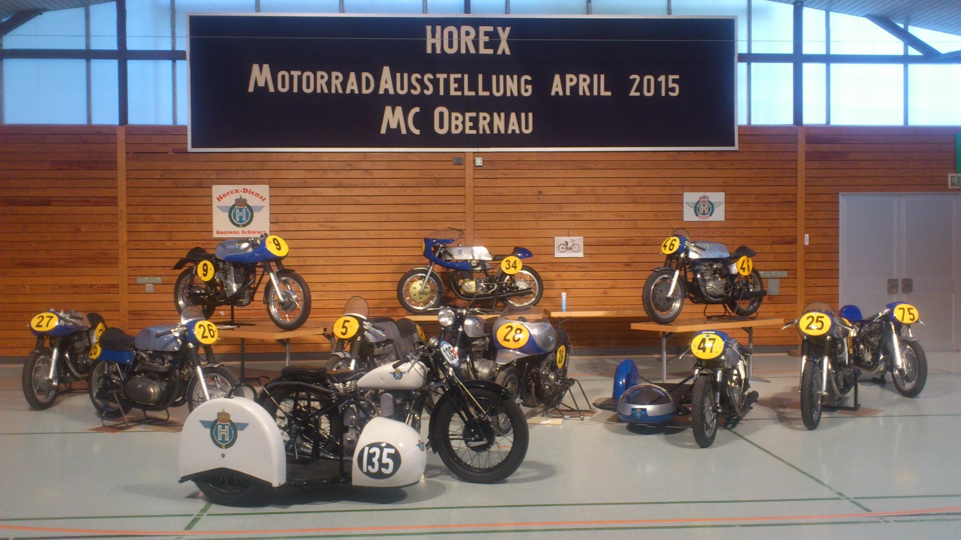 Horex Ausstellung 2015
