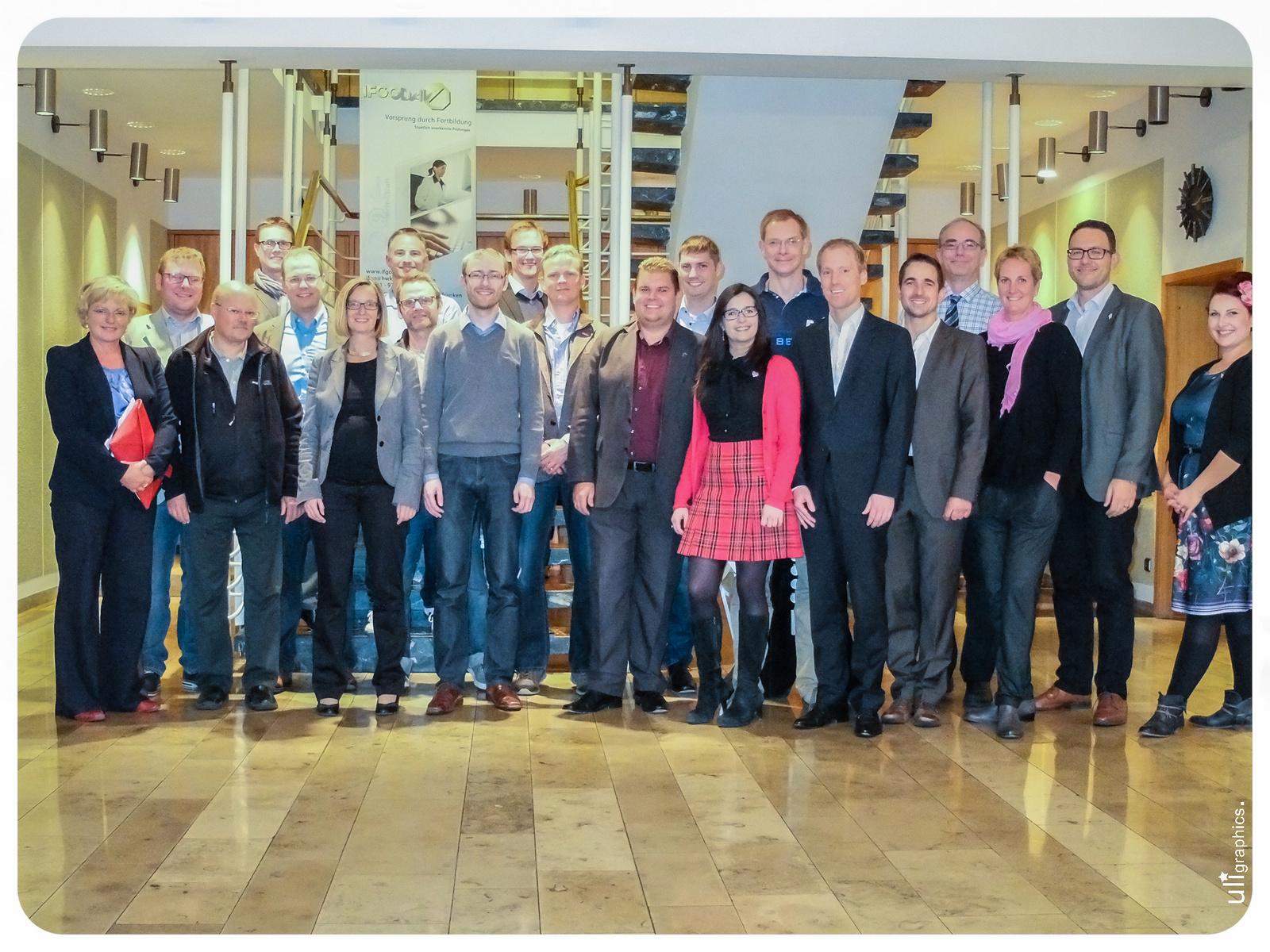 Treffen der Vorstände der oberfränkischen WJ-Kreise mit dem JdH-Vorstand Oberfranken