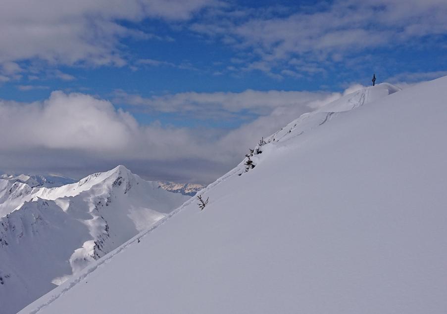 Gipfel des Zafernhorn