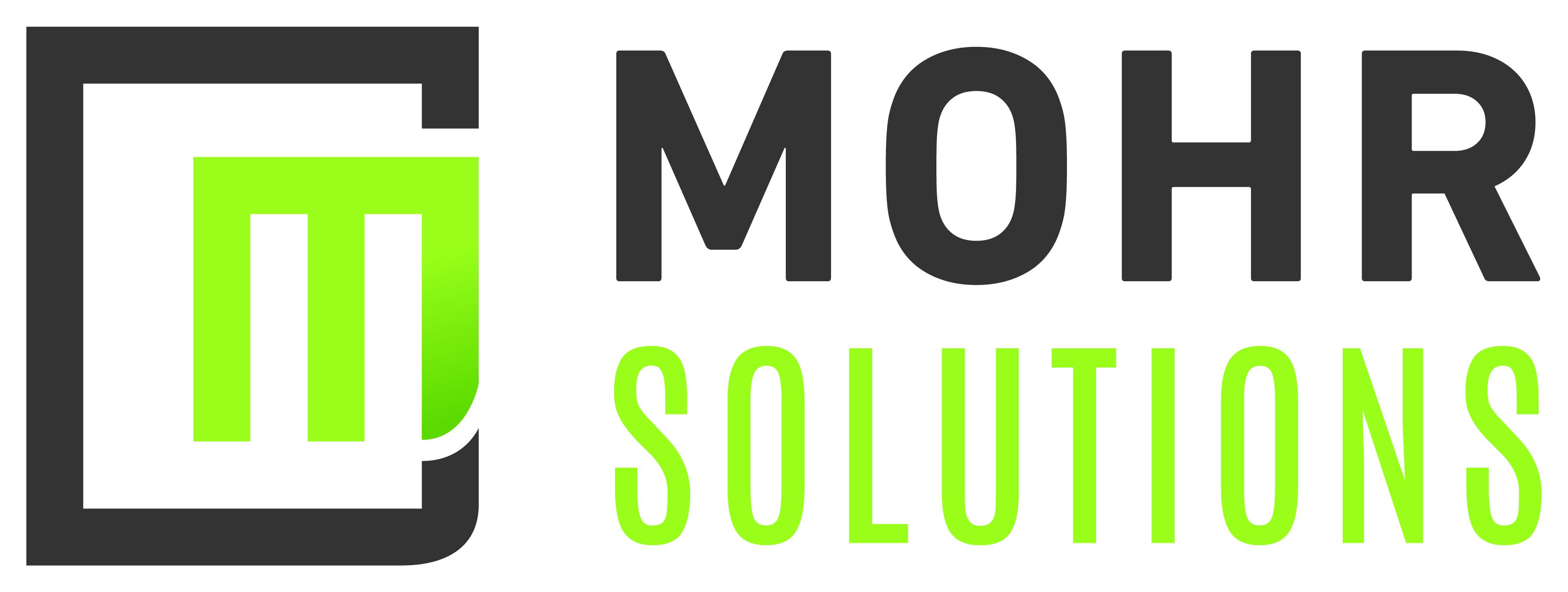 Mohr Solutions Logo