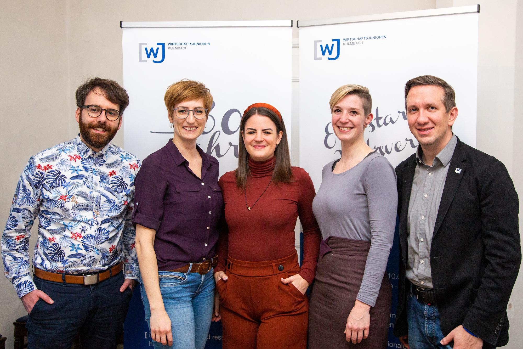 Wirtschaftsjunioren Kulmbach – Vorstand 2020
