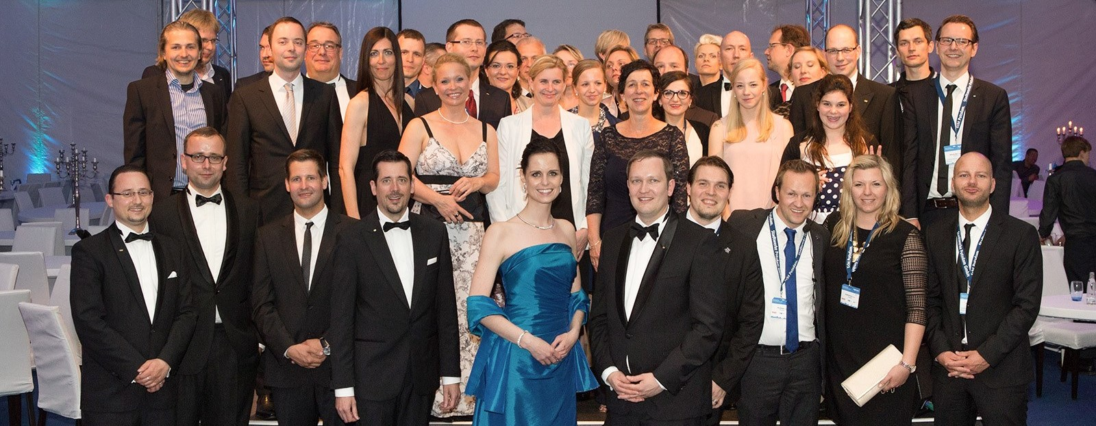 Die Mitglieder der Wirtschaftsjunioren Potsdam