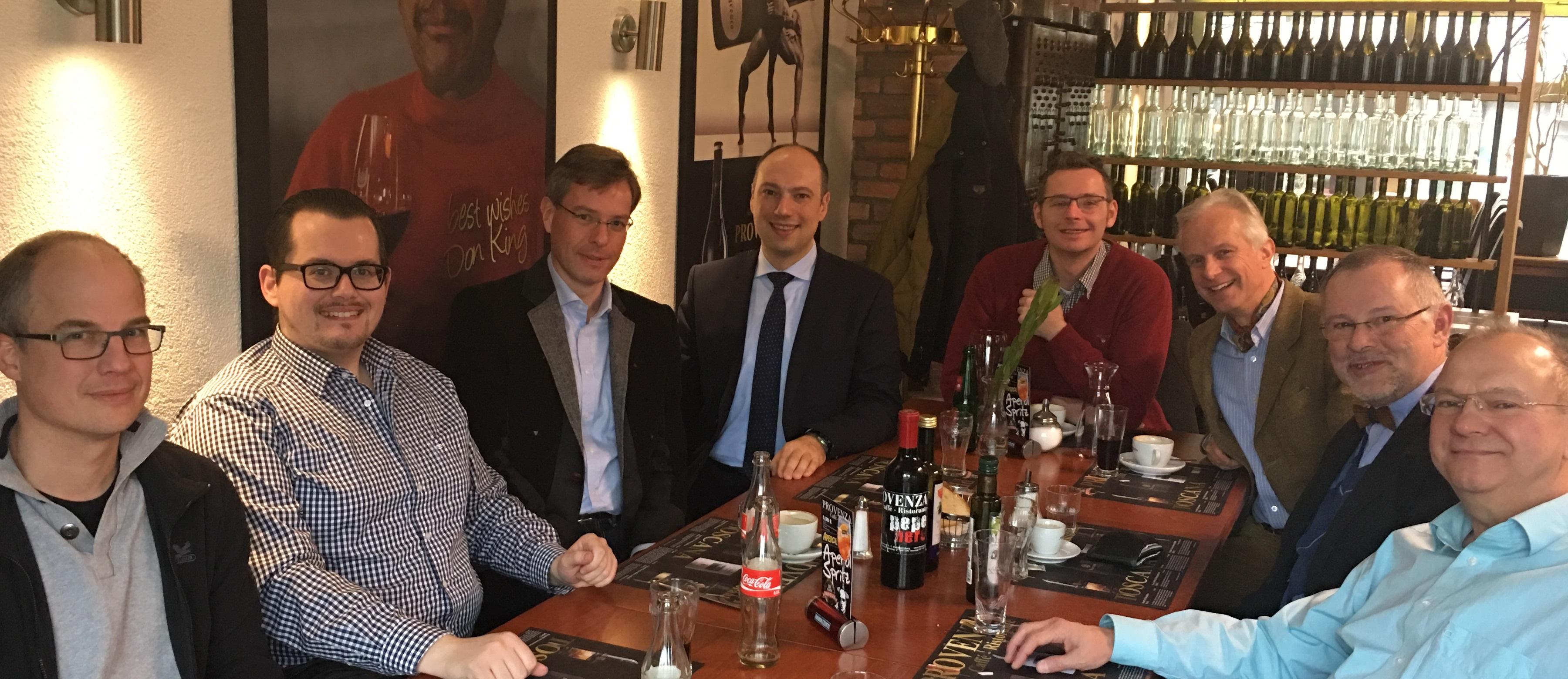 Zu Tisch mit Andreas Krieglstein