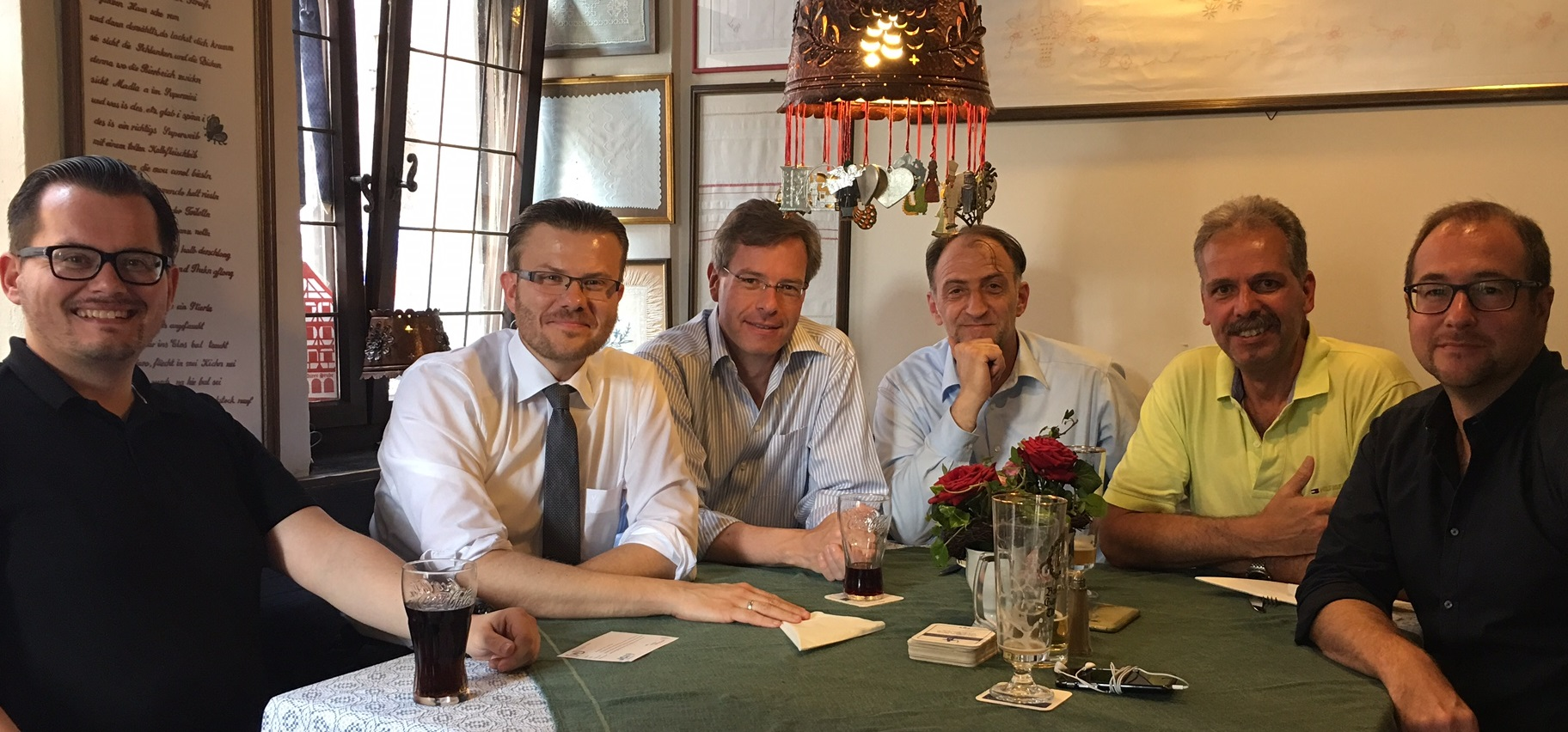 Zu Tisch mit Marcus König
