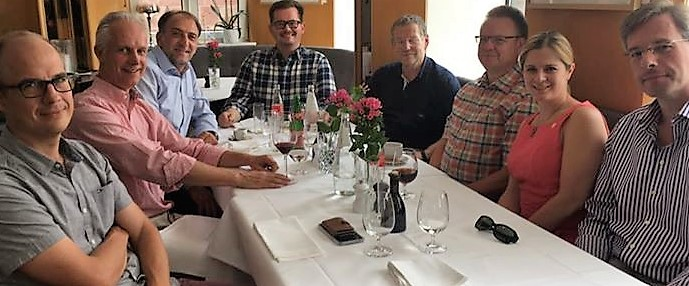Zu Tisch mit Dr Otto Heimbucher